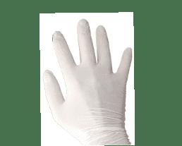 gant latex contre les bactéries