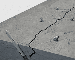 injection packer concrete crack repair