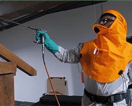 ventilation assistée pour les chantiers