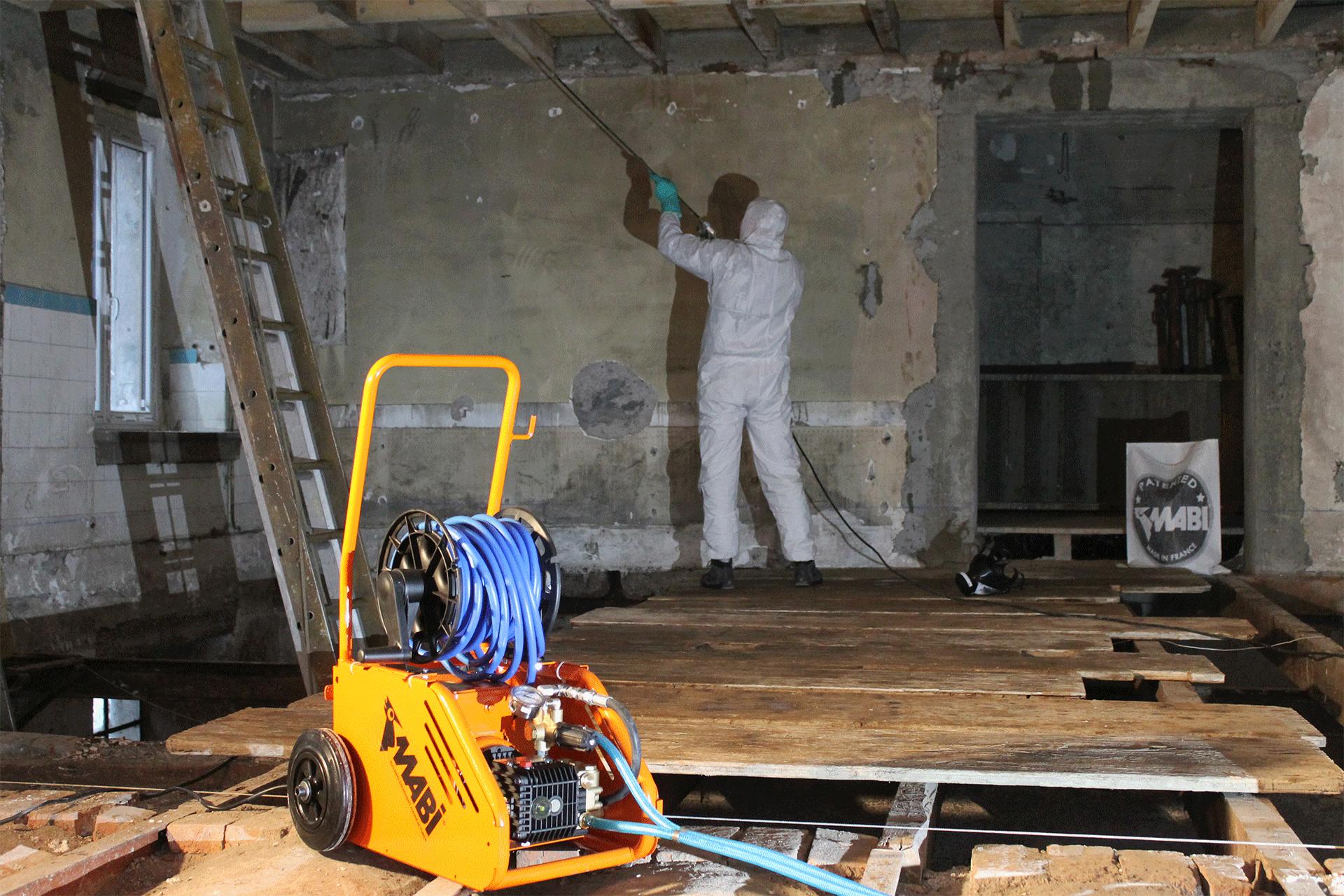 pompe de traitement pour les charpentes infestés de termites