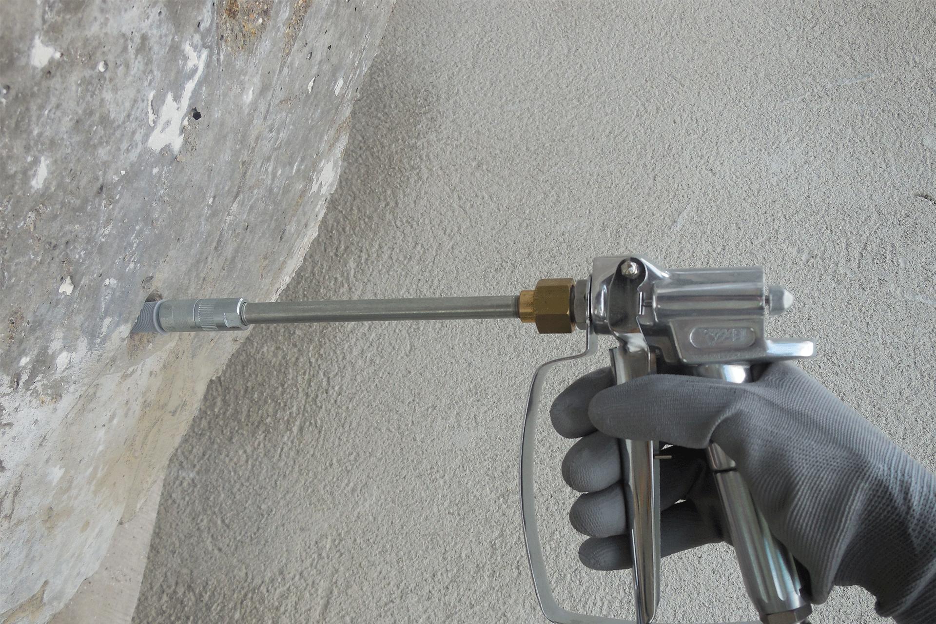 réparation des bétons fissurés