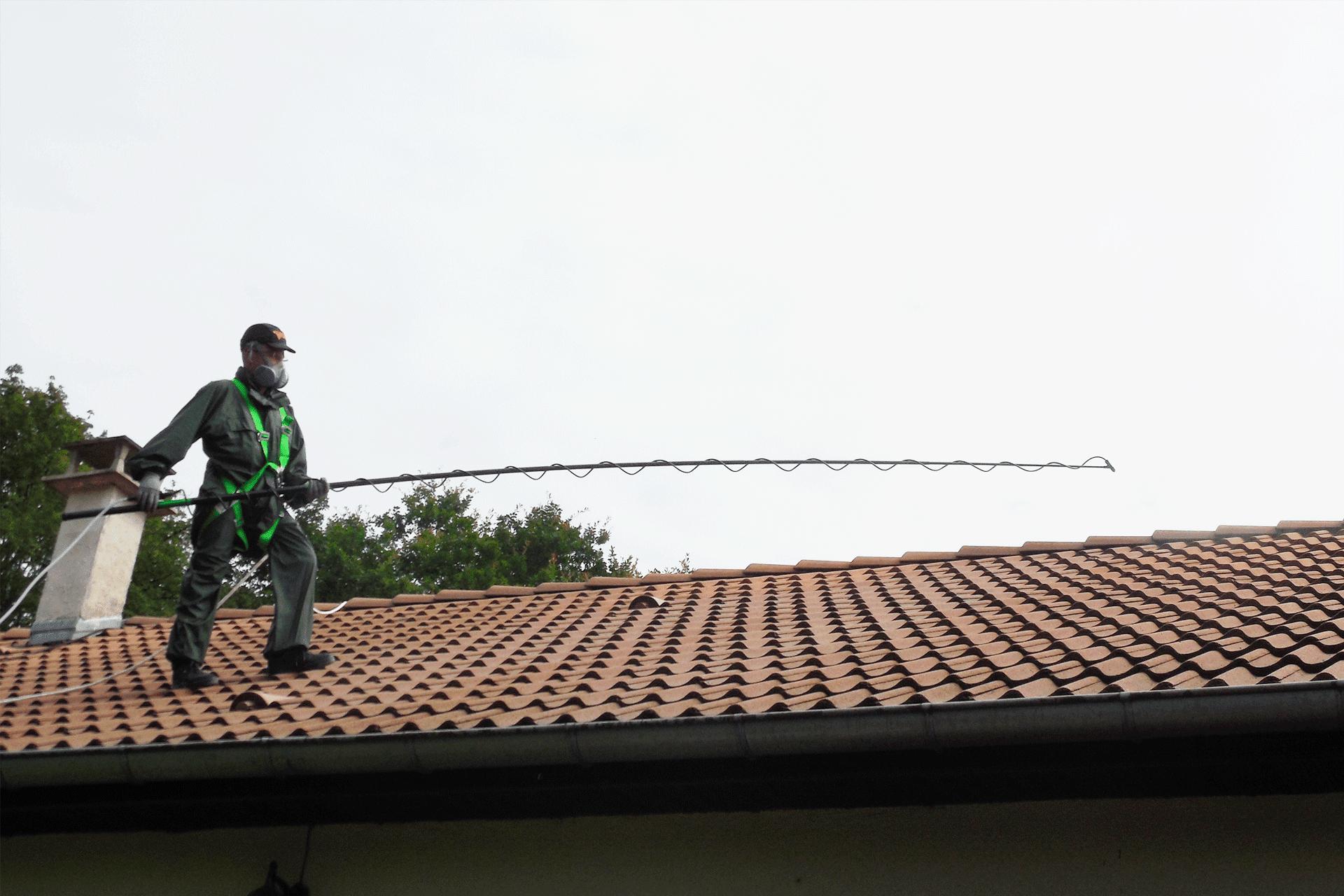 méthode traitement de toiture