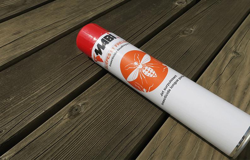 bombe anti guêpe frelon insecticide