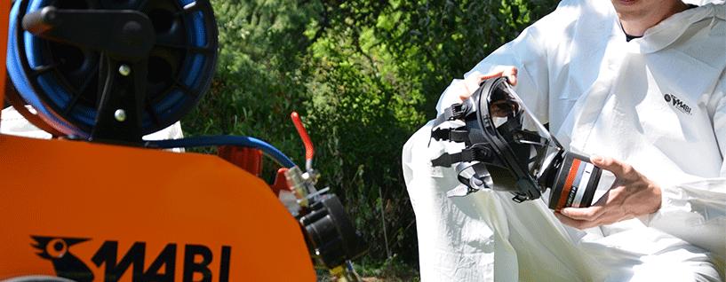 masque panoramique protection chantier