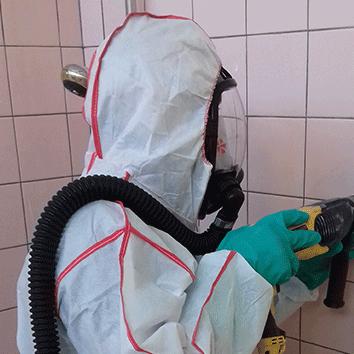 protection travaux désamiantage amiante