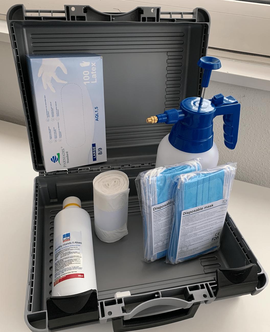 kit sanitaire protection