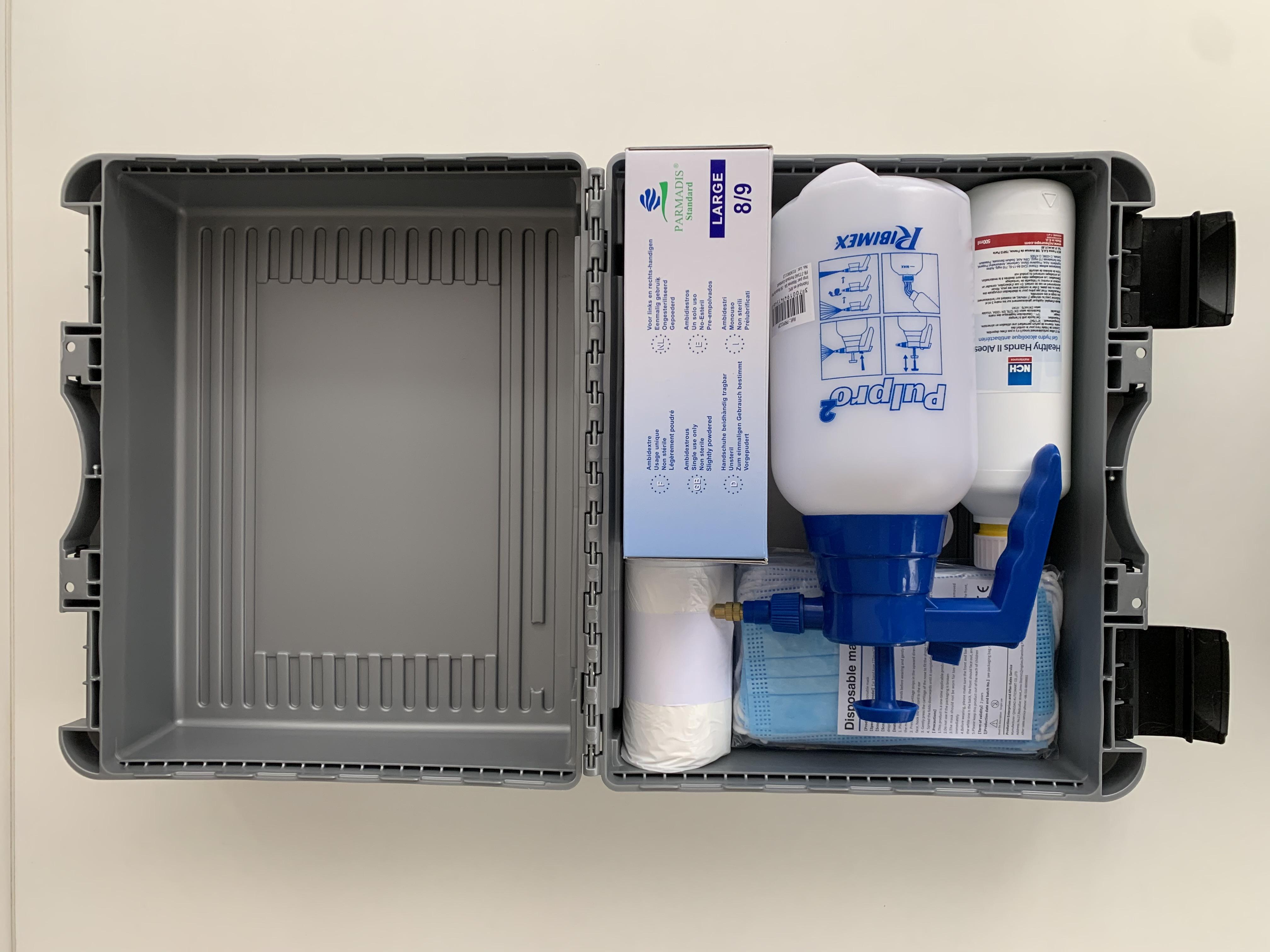 kit sanitaire désinfection
