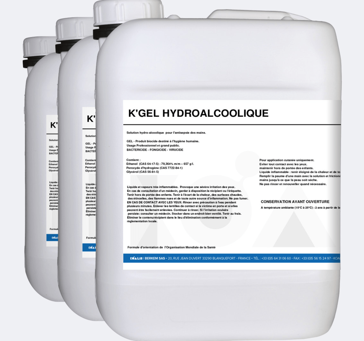 gel hydroalcoolique main désinfection