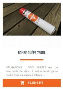bombe anti insecte