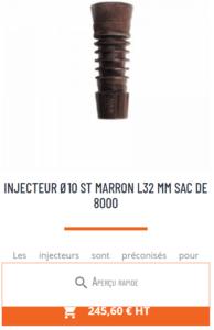 injecteurs Mabi