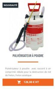 pulverisateur à poudre