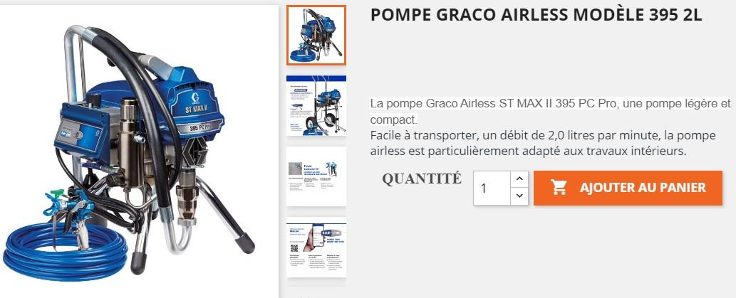 pompe pulverisateur graco